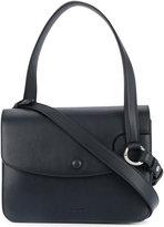 Jil Sander flap closure shoulder bag