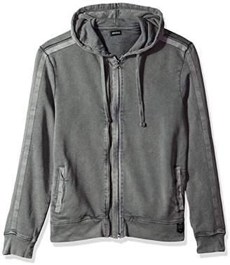 Buffalo David Bitton Men's Facamo Long Sleeve Full Zip Hoodie Sweatshirt