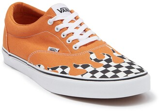 Vans Doheny Flame Check Sneaker