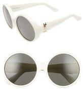 Saint Laurent 60mm Round Sunglasses