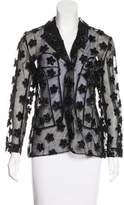 Simone Rocha Lightweight Embellished Jacket