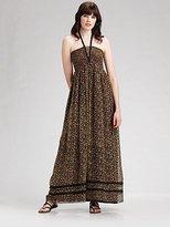 Rag & Bone Silk Chiffon Maxi Dress