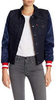 Levi's Patriots Denim Varsity Trucker Jacket