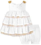 First Impressions 2-Pc. Tiered Tunic and Bloomer Shorts Set, Baby Girls (0-24 months), Created for Macy's