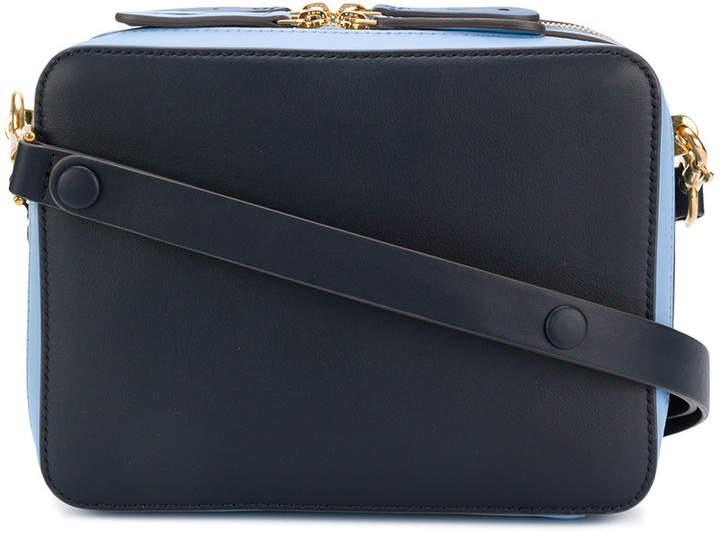 Anya Hindmarch double top zip shoulder bag