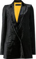 Haider Ackermann double breasted blazer