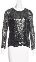 MLV Embellished Long Sleeve Top w/ Tags