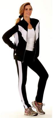 InstantFigure Color Block Activewear Compression Pants