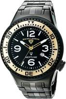 Swiss Legend Men's 21819P-BB-11-GB Neptune Force Analog Display Swiss Quartz Watch