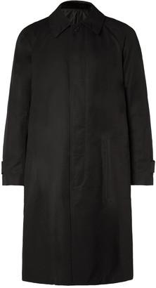 TAKAHIROMIYASHITA TheSoloist. Appliqued Cotton-Gabardine Trench Coat - Men - Black