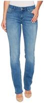 Calvin Klein Jeans Straight Leg Jeans in Sunlit Blue Wash Women's Jeans