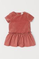 H&M Velvet Dress - Orange