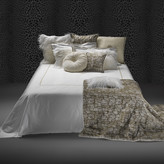 Roberto Cavalli New Gold Duvet Set - Super King - White