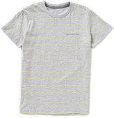Calvin Klein Big Boys 8-20 Blaze Striped Short-Sleeve Tee