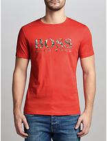 Hugo Boss Boss Orange Tacket Logo T-shirt, Medium Red