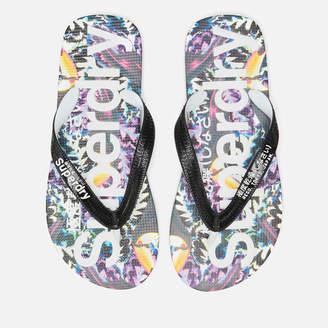 Superdry Women's Aop Flip Flops - Toucan Bazaar