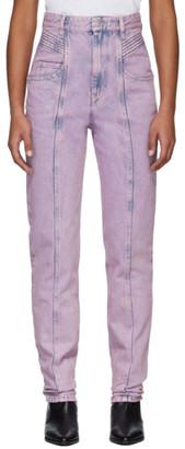 Etoile Isabel Marant Pink Henoya Jeans