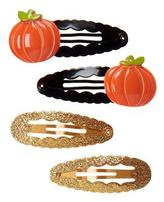 Gymboree Pumpkin Clips 4-Pack