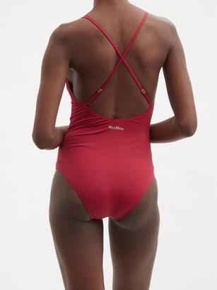 MAX MARA BEACHWEAR Lampada Swimsuit - Burgundy