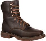 """Durango Men's Boot DWDB048 8"""" Western WP Workin"""" Rebel Steel Boot"""