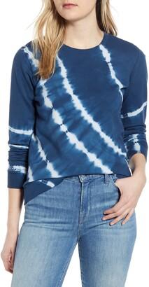Lucky Brand Tie Dye Cotton Sweatshirt