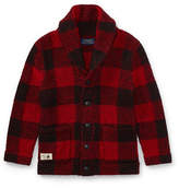 Ralph Lauren Childrenswear Plaid Knitted Cardigan