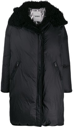 Yves Salomon Hooded Oversized Coat