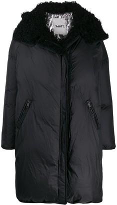 Yves Salomon Army hooded oversized coat