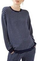 Topshop Women's Stripe Maternity Sweatshirt