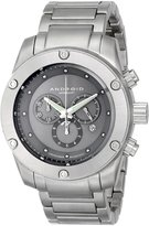 Android Men's AD556BK Antigravity Chronograph Dial Bracelet Watch