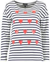Baukjen ELIZABETH Long sleeved top french navy/red