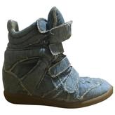 Isabel Marant Denim Sneaker