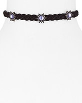 Rebecca Minkoff Braided Star Choker Necklace