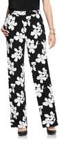 Vince Camuto Women's Fresco Blooms Wide Leg Pants