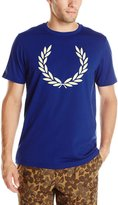 Fred Perry Men's Laurel Print T-Shirt
