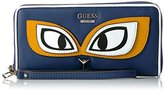 GUESS Clare (Vc) Large Zip Around - Red Wallet