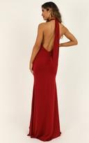 Showpo City Living Dress in wine - 12 (L) Dresses