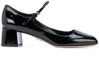 Prada Square Toe Pumps