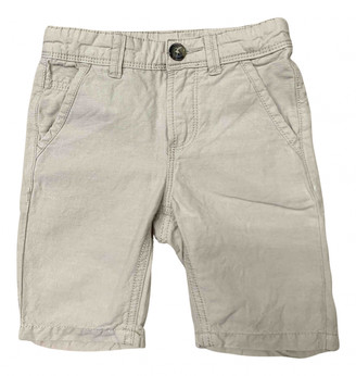 Benetton Beige Cotton Shorts