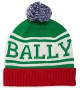 Bally Knit Pom-Pom Hat
