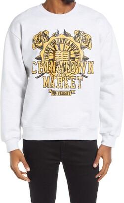 Chinatown Market University Graphic Crewneck Sweatshirt