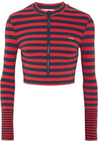 Stella McCartney Striped Rash Guard - Red