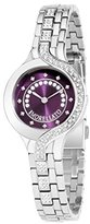 Morellato Burano Women's Quartz Watch with Purple Dial Analogue Display and Silver Stainless Steel Strap R0153117512