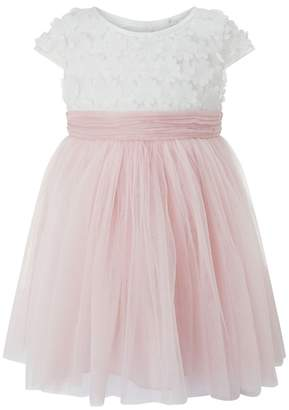 Monsoon - Baby Pink 'Catalina' Flower Dress