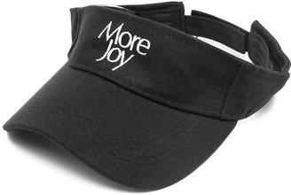 More Joy embroidered visor