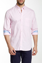 Tailorbyrd Gingham Woven Long Sleeve Classic Fit Shirt