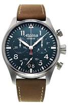 Alpina Men's Quartz Watch with Chronograph Quartz Leather 372 N4S6