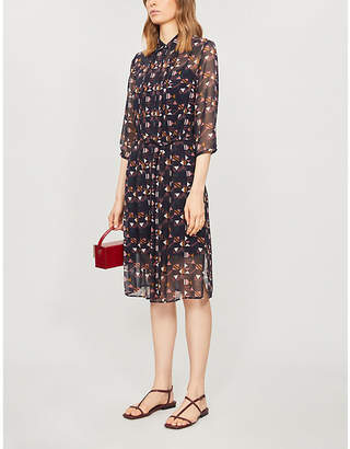 Ted Baker Nordic Puzzle crepe dress