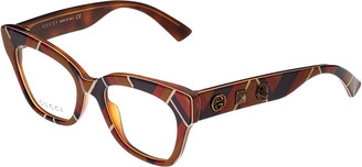 Gucci Women's Gg0060o-30001028003 49Mm Optical Frames