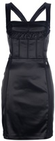John Galliano zip fastening mini dress